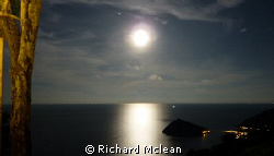 Does anyone recognise this moonlit shot of one of the wor... by Richard Mclean 